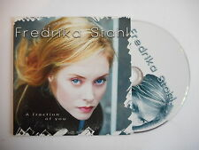 FREDRIKA STAHL : A FRACTION OF YOU [ CD SINGLE ] ~ PORT GRATUIT !