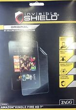 ZAGG Invisible Shield Screen Protector for Kindle Fire HD 7 Inch