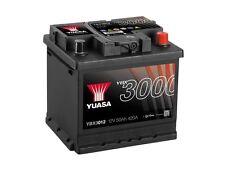 Mazda 2 & MX5 YBX3000 SMF Battery YBX3012 12V 50Ah 420A Yuasa SMF Battery