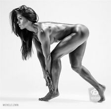 "Michelle Lewin Sex Model Bodybuilding Fitness Motivational Poster 13""x13""  M17"
