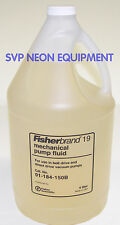 VACUUM PUMP OIL, 4 LITERS (MORE THAN 1 GALLON) INLAND 19 ALCATEL WELCH VARIAN