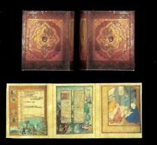 Dollhouse Book Based on a Belgium Breviary Bible ca 1500 Christian Miniatures