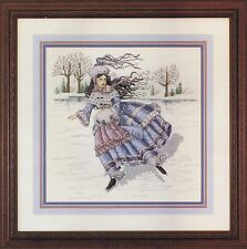 Winter Maiden Cross Stitch Chart And Pattern By Cross My Heart Inc