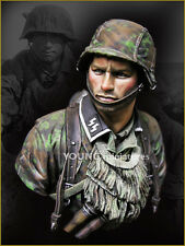 Young Miniatures - German Waffen SS, Kursk 1944 - 1:10 scale resin bust