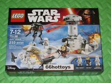 LEGO STAR WARS 75138 Hoth Attack NEW