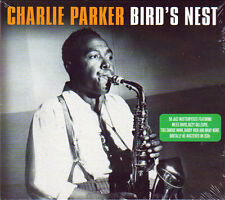 CHARLIE PARKER - BIRD'S NEST - 50 Jazz Masterpieces (NEW SEALED 2CD)