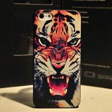 Fashion Cute Tiger Pattern Hard Back Skin Case Cover for Apple Iphone 4 4S