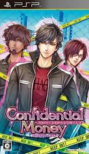 Used PSP Confidential Money: 300-Hi de 3000-Man Dol Import ((Free shipping))