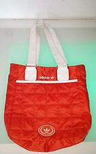 Adidas sporty orange handbag good condition with some minor small stains