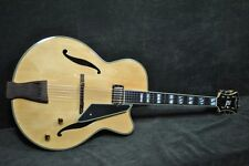 """PEERLESS MONARCH 17"""" JAZZ electric ARCHTOP  BLONDE w set routed Humbucker"""
