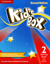 Cambridge KID'S BOX 2 Activity Book with Online Resources SECOND EDITION @NEW@