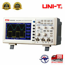 "UNI-T OSCILLOSCOPE UTD2025CL 2Channels 25MHz 25kpts 7"" LCD Screen USB Multimeter"