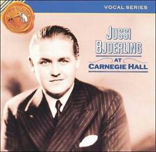 Jussi Bjoerling at Carnegie Hall (CD, RCA) (cd2940)