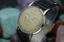 Vintage JAEGER LeCOULTRE Cal. 497 Pre- Futurmatic Power Reserve Men's Watch