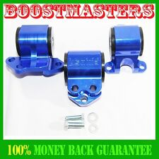 Engine Torque Mount Kit fit 92-95 Honda Civic 93-97 Honda Civic Del Sel BLUE