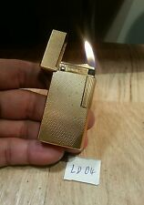 Large Dunhill70 rollagas lighter 04 ~ Barley body gold  plated,  serviced & grte