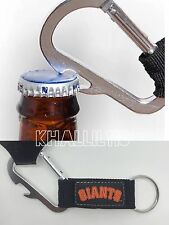 MLB San Francisco Giants Official Carabiner Climbing Keychain Bottle Opener