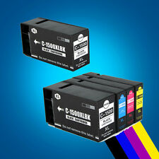 5 Ink Cartridges PGI-1500XL for Canon MAXIFY MB2050 MB2350  P