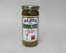 8oz. TOMOLIVES Bryant Preserving OLD SOUTH Pickled Green Tomatoes FREE USA SHIP