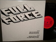 "Full Force ""Girl/Let's Dance Against The Wall"" 12"" Mix in Stereo"