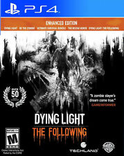 Dying Light: The Following - Enhanced Edition PS4 New PlayStation 4, PlayStation
