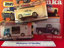 LOT 3 MIP 1:64 Die Cast car Matchbox Tonka True Value VW Box Truck w Horses! g2