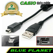 CASIO Exilim EX-H30 / EX-Z21 / EX-FC200 / EX-FC200S USB Cable Data Transfer Lead