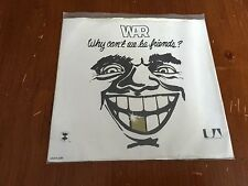 War Why Can't We Be Friends UA-XW629-X 45 RPM United Artists Records 1975 Record
