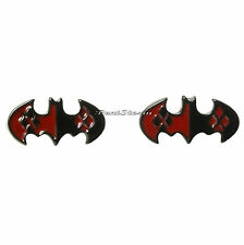 Suicide Squad DC Comics Batman Joker Harley Quinn Logo Post Stud Earrings NEw