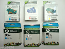 Genuine HP 88XL Cyan Ink Inkjet Cartridge Officejet L7650 L7680