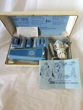Vtg Ladies Sears Deluxe Beauty Ctr Shaver Mani/Pedi set for Parts Repair or Prop