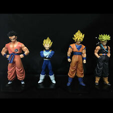 Dragon Ball Z #A 4pc set PVC Figures 15cm toy doll gift Gokou Vegeta Gohan