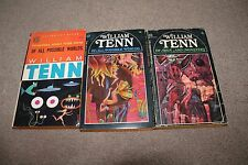 William Tenn PB lot of 3 Of All Possible Worlds (2 Copies) & Of Men and Monsters
