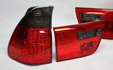 LED RÜCKLEUCHTEN RÜCKLICHTER SET BMW E53 X5 99-03 ROT SCHWARZ RED SMOKE 4 TEILE