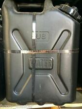 New Scepter Military 5 Gallon Water Can Jug Jerry Can Black - Buy 6 get 1 Free!
