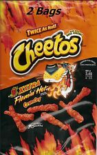 2 Bags 8.5 oz Crunchy Xxtra Flamin' Hot Cheetos XXtra Flamin' Hots & Football