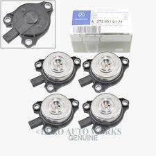 Mercedes-Benz Camshaft Adjuster Magnet Intake / Exhaust Original Genuine (4pcs)