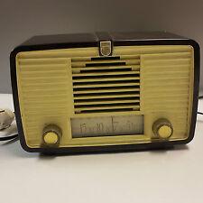 Röhrenradio Philips BX 115 U Bakelit Tischradio  tube 1952 Rundfunkempfänger