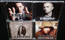 EMINEM 4x CD BUNDLE MNEP + HANDS UP + WATCH THE THRONE + GREATEST OF ALL TIME