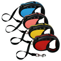 Nylon Retractable Dog Leads Automatic Extendable Dog Leash for Puppy Small Dogs