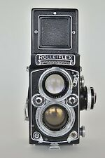 Working Rolleiflex with f2.8 80mm Planar Zeiss lens and case