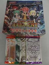 Cardfight!! Vanguard English G-BT08 Absolute Judgment Booster Box + 5 PR Packs