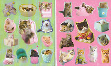 RACHAEL HALE CAT KITTENS STICKERS 12 SHEETS