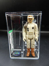 AFA 80 Star Wars REBEL COMMANDER Kenner 1980 vintage action figure toy HK Hoth !