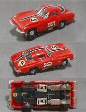 1960s Hong Kong Kader 1964 CHEVROLET CHEVY CORVETTE Slot Car Rare South America