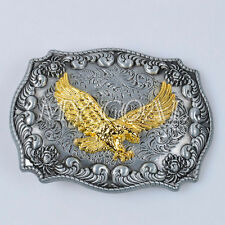 Swooping American Eagle Western Rodeo Cowboy Belt Buckle Line Dancing Accessory