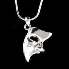 The Phantom of the Opera Broadway Masquerade Mask Unisex Pendant Charm Necklace