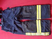 Feuerwehrüberhose  Feuerwehrhose Gore-tex Gr 52 Hupf Typ A gebraucht