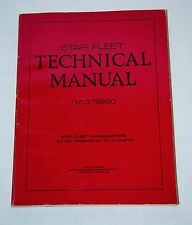 1975 STAR TREK STAR FLEET TECHNICAL MANUAL TM:379260