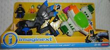 NEW Imaginext DC Super Friends Batman Mech & The Joker Jet plane set
